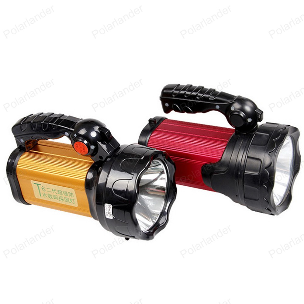 LED powerful long-range flashlight high power super bright searchlight Rechargeable Torch for camping hiking portable flashlight torch light led rechargeable searchlight 30w long range bright spotlight for hunting and camp