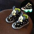 2017 весной новый мультфильм дети спорт led shoes men и женщины дети дети мигает shoes дети миньон shoes fashion shoes