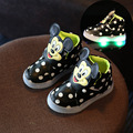 2017 spring the new cartoon children led sports shoes men and women children kids flashing shoes kids minion shoes fashion shoes