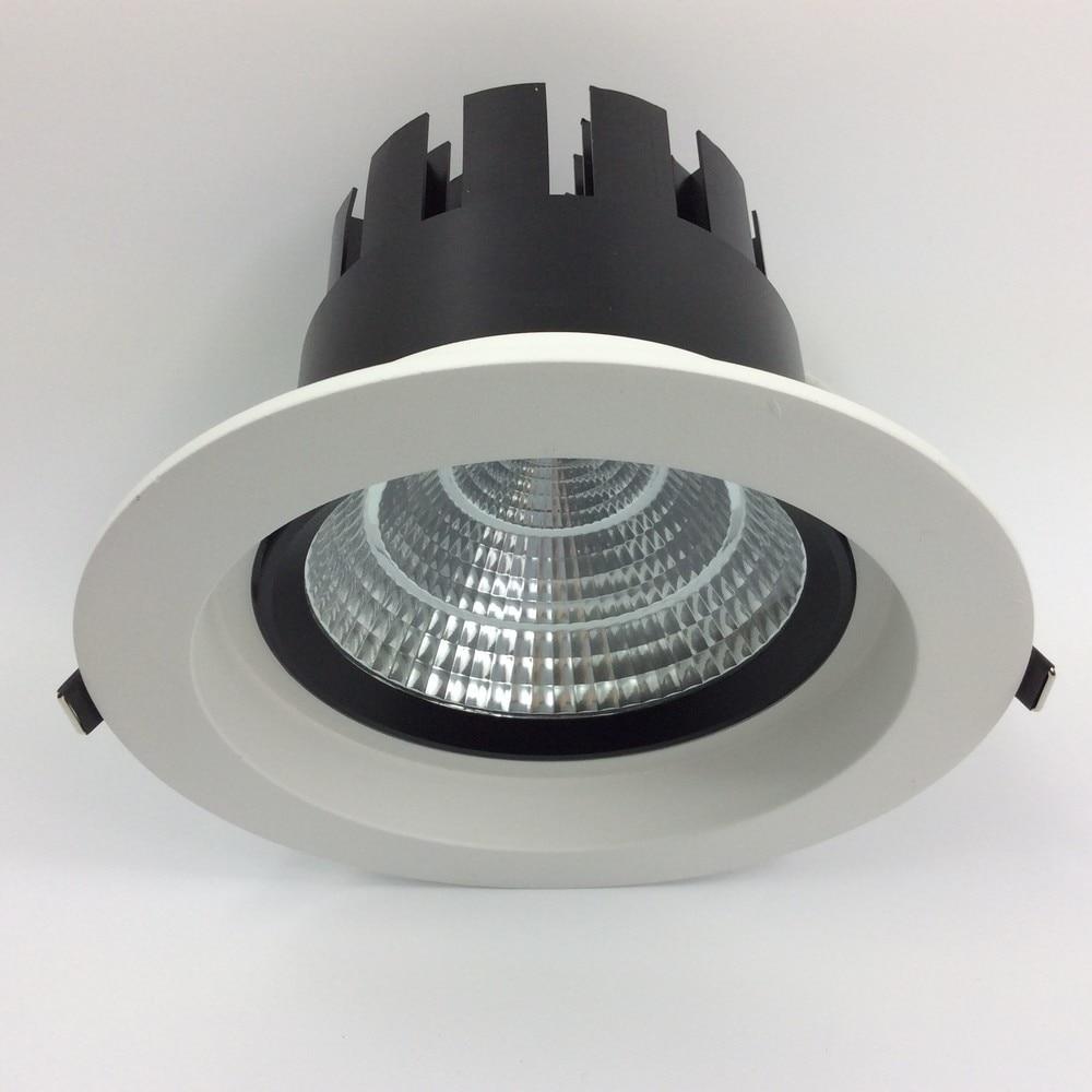 40 Вт Регулируемый 60 угол луча встраиваемые качество светильник с Высокое качество Новый интегрированный плавники Алюминий радиатора