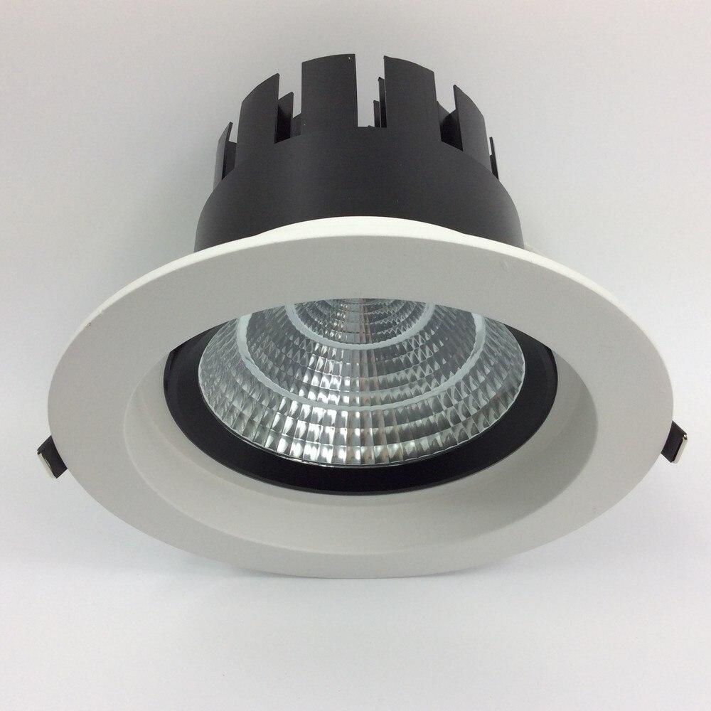 60 40 w ajustavel angulo de feixe qualidade recesso downlight com alta qualidade novo integrado aletas