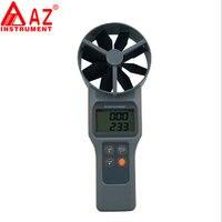 Digitale Anemometer Detecteert Temperatuur Vochtigheid CO2 Luchtkwaliteit Detector