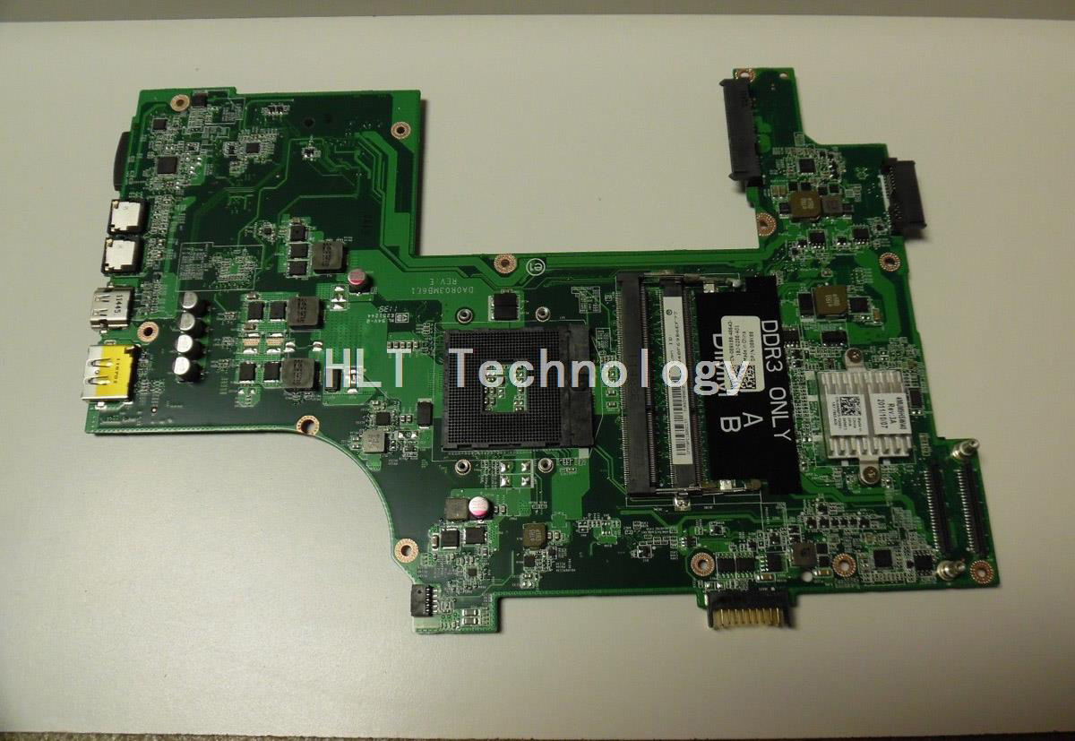 SHELI laptop Motherboard For Dell DELL 3750 CN-089X88 089X88 DA0R03MB6E1 integrated graphics card 100% fully tested sheli laptop motherboard mainboard for dell inspiron n7010 cn 0gkh2c da0um9mb6d0 integrated graphics card 100% tested fully