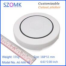 4 шт., 168*51 мм настенный маршрутизатор wifi пластиковая Соединительная коробка szomk Пластиковый корпус для электронной pcb дизайн корпус датчика