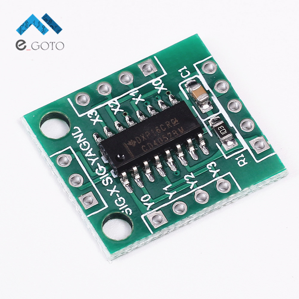 US $2 39 |5V CD4052 Dual Channel Analog Switch Module 2 Channel Circuit  Module 17mmx17mm-in Integrated Circuits from Electronic Components &  Supplies