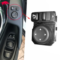 Mirror Control Switch Rearview Rear Mirror Folding Switch Button For Nissan Qashqai X Trail Sylphy TIIDA TEANA LIVINA 2013 2018