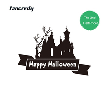 halloween decoration 3d stickers funny 20135cm car styling funny car whole body decor decals wall window house home sticker