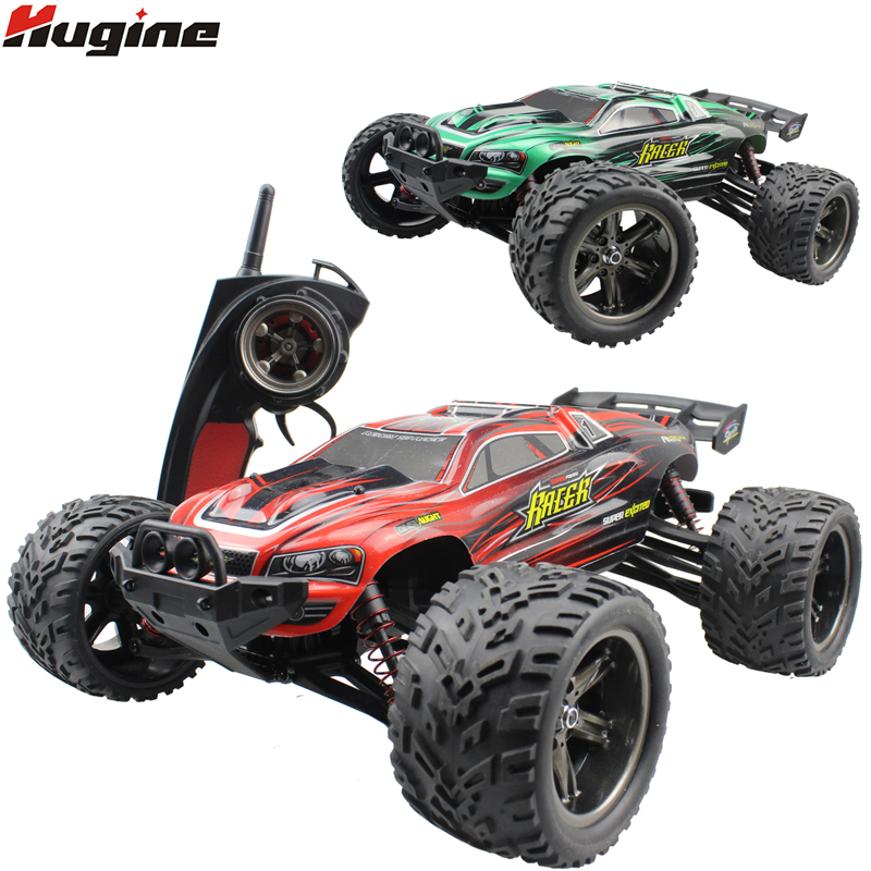RC Cars Full Proportion Monster Truck 9116 Buggy 1:12 2.4G Off Road Pickup Auto ad alta velocità Big Foot Vehicle Giocattoli elettronici Hobby
