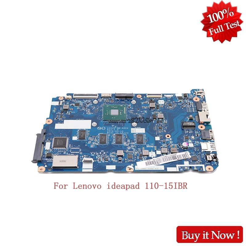 Nokotion 5B20L77438 NM-A804 Main board for Lenovo 110-15IBR Laptop motherboard CG520 with N3710 Cpu Onboard kefu 5b20l77440 nm a804 for lenovo ideapad 110 15ibr laptop motherboard n3060 tested