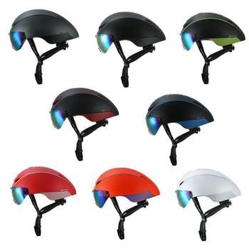 CAIRBULL AERO-R1 רכיבה על קסדת מגנטי משקפי אופני אופניים קסדת כביש הרי MTB פנאומטי TT קסדת Casco Ciclismo כובע