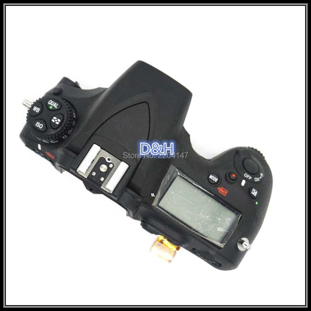 Подробнее о 100% Original Top Cover Shell Unit with top lcd,flash board,Flex cable FPC for Nikon D810 Camera Replacement Repair Parts new original sd memory card cover shell unit for slr nikon d750 camera repair parts
