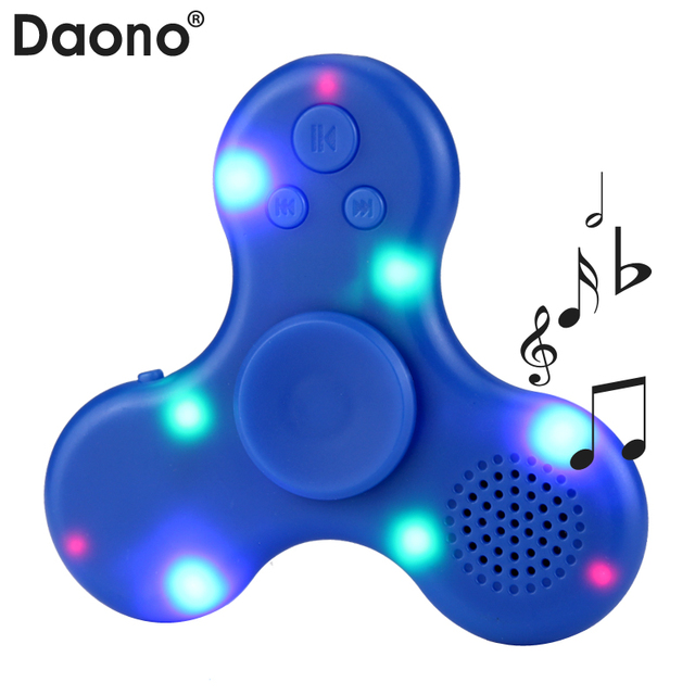US $3.99 |LED Mp3 player Bluetooth Lautsprecher Musical Player USB Lade  Spinner Anti Stress Relief Kinder Erwachsene Spielzeug in LED Mp3-player ...