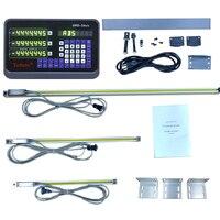 3 осевое устройство цифровой индикации + 3 шт 50 1000 мм линейные весы линейный энкодер длинная линейка для сверла/EDM/фрезерования/шлифовки/тока