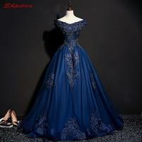 Темно синее бальное платье принцессы, бальные платья для девочек, украшенные бисером, маскарадные платья 16, бальное платье, vestidos de 15 anos
