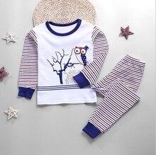 New Autumn garcon christmas pyjamas kids Full Sleeve Girls sleepwear kids underwear pajamas pijama infantil kids kigurumi