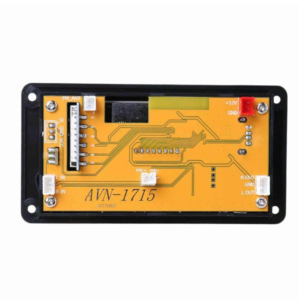 ضياع USB بلوتوث فك عرض دعم لوحة لاسلكية سيارة LED مؤشر وحدة مكبر صوت اكسسوارات مشغل MP3