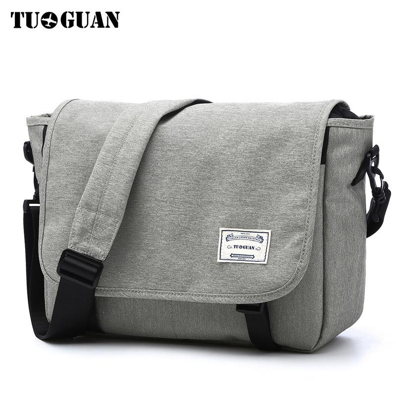 Men s Messager Bag Mini Business Shoulder Bags Casual Summer Bag grey