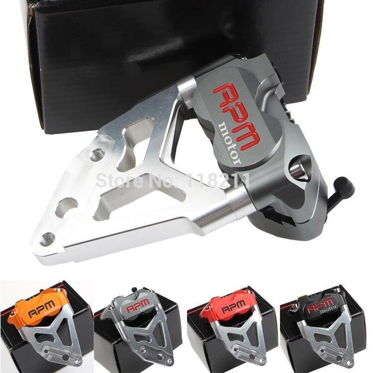 RPM moteur électrique moto Scooter frein étrier + pompe de frein adaptateur support pour 200mm 220mm frein disque Pit vélo Dirt Bike