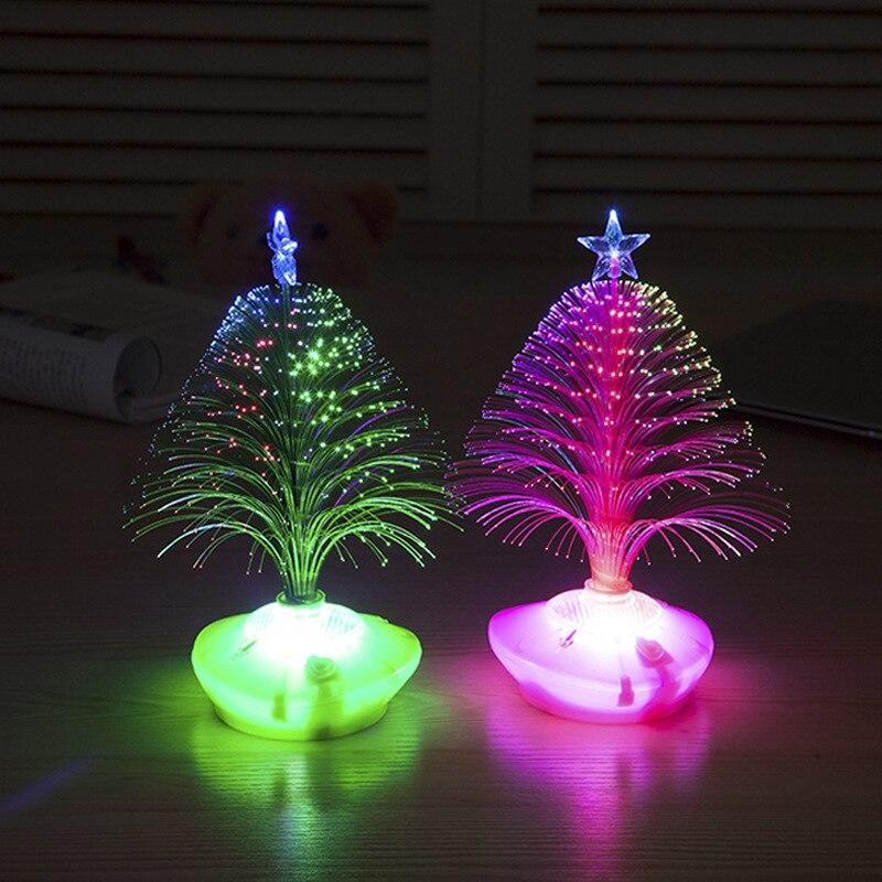 fiber optic christmas trees Holiday Festival Best Gift Mini USB RGB ...