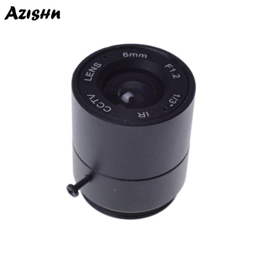 Wholesale CCTV LENS 6mm 53degrees  1/3
