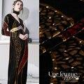 Broca quente tecido de veludo seda + rayon cheongsam vestido material vestuário atacado largura 114cm