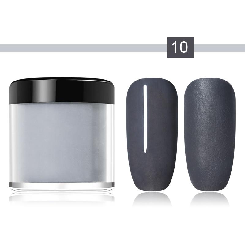 NICOLE DIARY Nail Art Dipping Powder Nail Color Natural Dry Without Lamp Nail Dipping System Powder