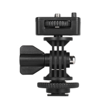 "Andoer Verstelbare Cold Hot Shoe Mount Adapter Met 1/4 ""Schroef Voor Viltrox DC 90 DC 70 DC 50 Monitor L132T L116T Led video Licht"
