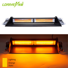 1PC 12V 24V LED COB Windshield Warning Light Car Flash Light Police Emergency Flasher Strobe font