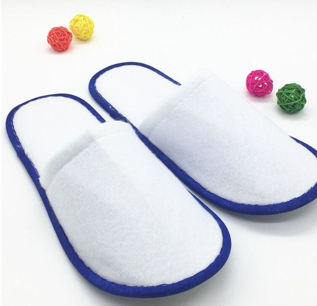 Free Shipping Brand New 20pairs/lot Disposable Hotel and Restaurant Supplies Ramab slipper Wholesale 1