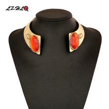 Женское Ожерелье чокер lzhlq яркое ожерелье из металлического