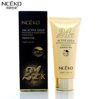NCEKO 24K Active Gold Face Cream Moisturizing Gentle Exfoliating Face Skin Care Anti Wrinkle Aging Whitening