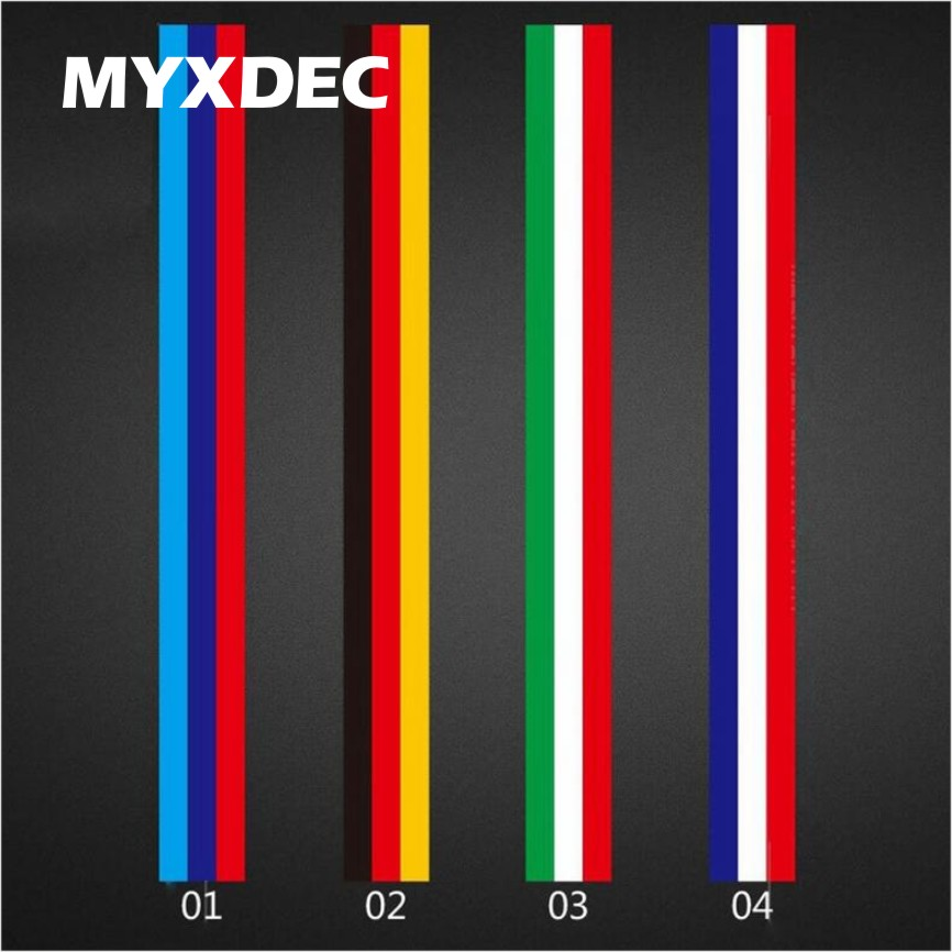 Image 2 - 5Meters DIY Decoration Decals Exterior Auto Motorcycle Film Waterproof PVC Sticker Covers For VW BMW 3 Colors Line Car Styling-in Car Stickers from Automobiles & Motorcycles