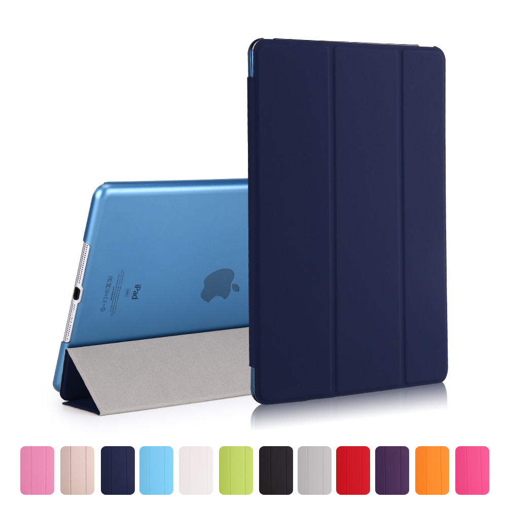 Hot 9.7 Inch Case For Apple IPad 9.7 Inch Air / Air 2 Retina Cover Ultra Slim Auto Sleep Cover For New Ipad 2017 2018 Cover