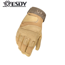 ESDY Outdoor Commando Military sport Climbing gloves Fingers Sport cycling Tactical Wear-resisting Hiking guantes gloves welding driver gloves safety protective wear resisting smooth leather working gloves