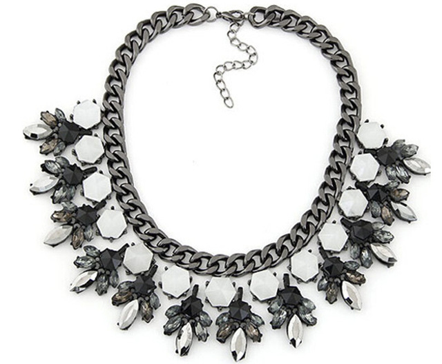2014 de la alta calidad ZA lujo marca collar collares viintage y colgantes gargantillas declaración joyeria mujer N0105