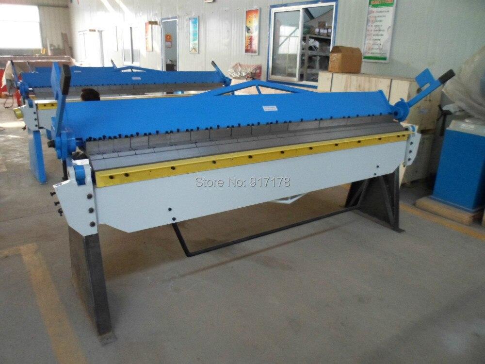 2540A * 2.5mm mano frenos de plegado de chapa bandeja de la máquina y la caja plegable de herramientas de la maquinaria