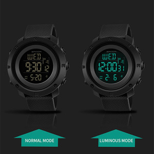 Image 4 - SANDA Reloj Hombre 2018 Fashion Sport Watch Men Digital Watches Countdown Stop Watch Relogio Masculino Waterproof Couple Clock