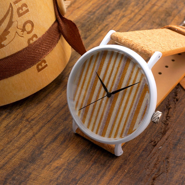 BOBO BIRD E17 Women's Vintage Design Brand Luxury Wooden Bamboo Watches Ladies Watch With Real Leather Quartz Watch in Gift Box