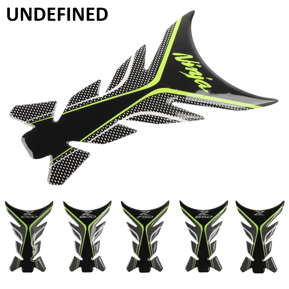 UNDEFINED Motorcycle Sticker Decal Gas Oil Fuel Tank Pad Protector Case For Kawasaki NINJA 250 300 Z650 Z750 Z900 Z1000 Moto
