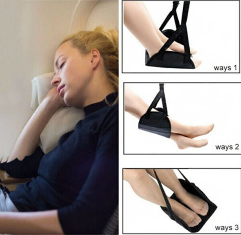 Hot New Products Comfy Hanger Travel Airplane Footrest Hammock Made With Premium Memory Foam Foot Family Cheap Discount Home