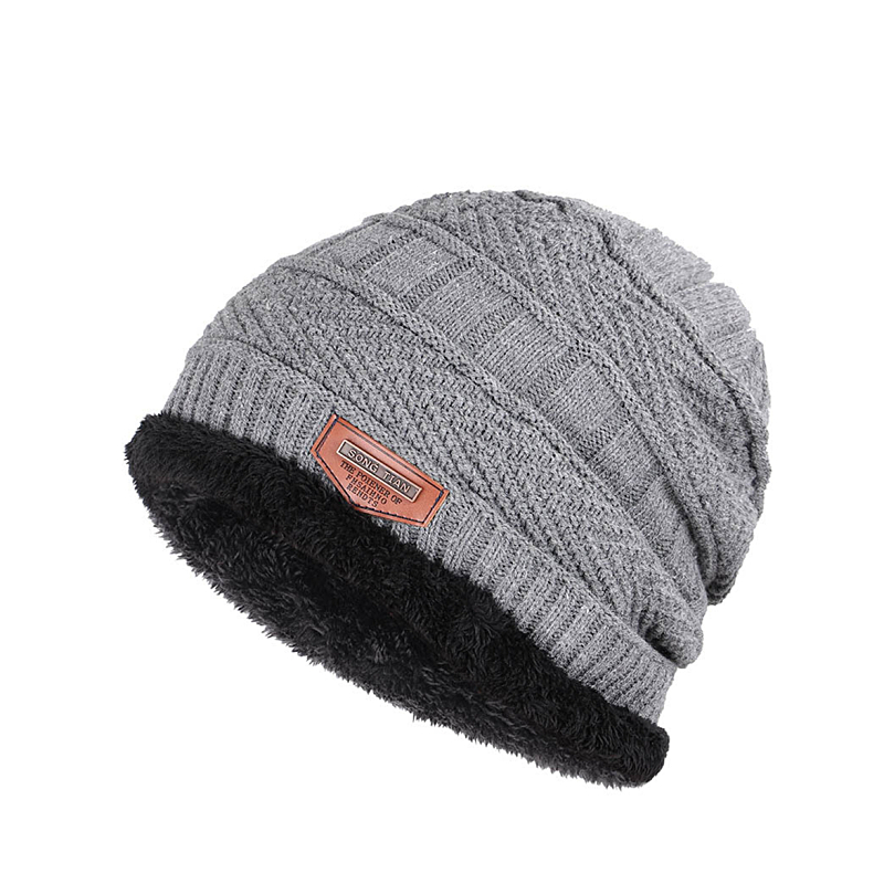 ed69fb9bafc11 New Winter knitted Hats Men Women Beanies Hat Thickening Beanie Skullies  Hat Autumn Unisex knit Bonnet Beanie Caps Wholesale-in Men's Skullies &  Beanies ...