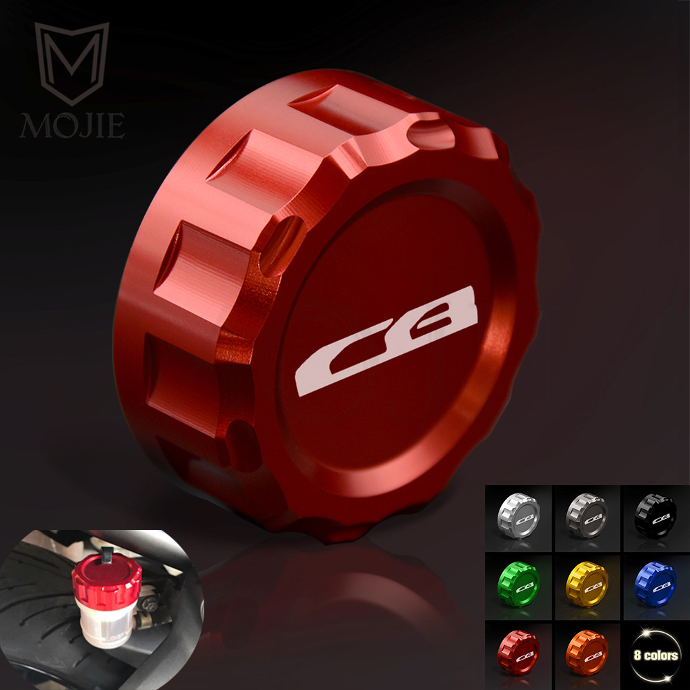 For Honda CB1000R CB1000 CB 1000 R CB 1000R 2008 2009 2010 2012 Motorcycle Rear Brake Fluid Cylinder Reservoir Cover Cap in Covers Ornamental Mouldings from Automobiles Motorcycles