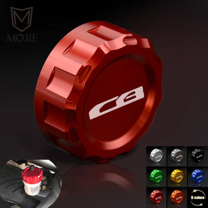 For Honda CB1000R CB1000 CB 1000 R CB 1000R 2008 2009 2010 2012 Motorcycle Rear Brake Fluid Cylinder Reservoir Cover Cap(China)