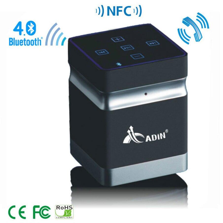 ФОТО Portable Super Mini Vibration Loudspeaker Bluetooth Speaker Vibration NFC HIFI Stereo Audio Player Wireless Speaker