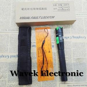 Image 3 - 20mW 20km visual fault locator fiber laser cable tester Equipment FTTH fibe optic tools