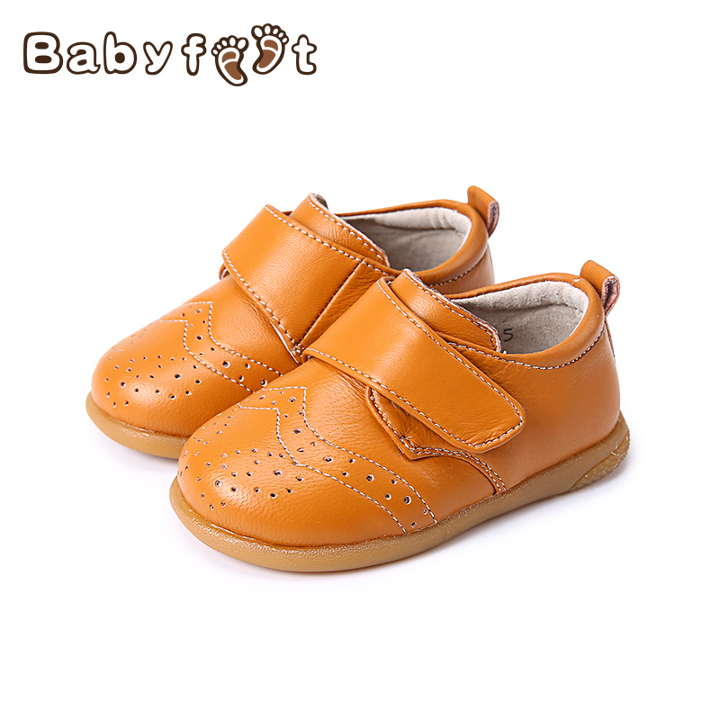 1 Pair First Walkers Toddler Shoes Baby Boys Shoe New Nice Fashion Soft Bottom Comfortable Genuine Leather Non-Slip Spring Blank baby shoes first walkers baby soft bottom anti slip shoes for newborn fashion cute soft baby shoes leather winter 60a1057
