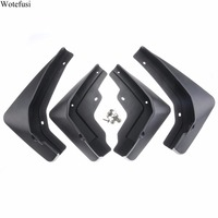 Front Rear Mudflaps Mud Splash Guards Fender For 2016 2017 Up Cadillac XT5 QPA416