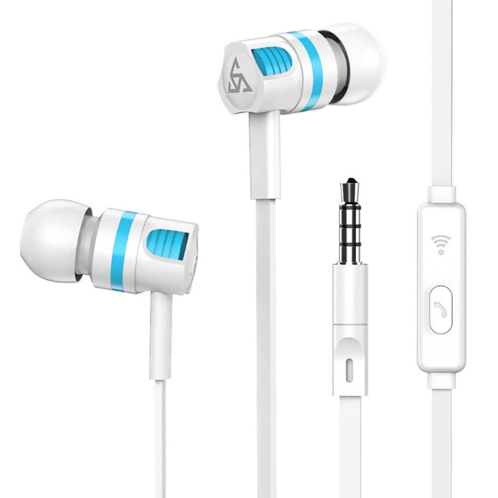 Original auriculares JM26 auriculares con aislamiento de ruido en la oreja los Auriculares auriculares con micrófono para teléfono móvil MP4 MP3 Xiaomi