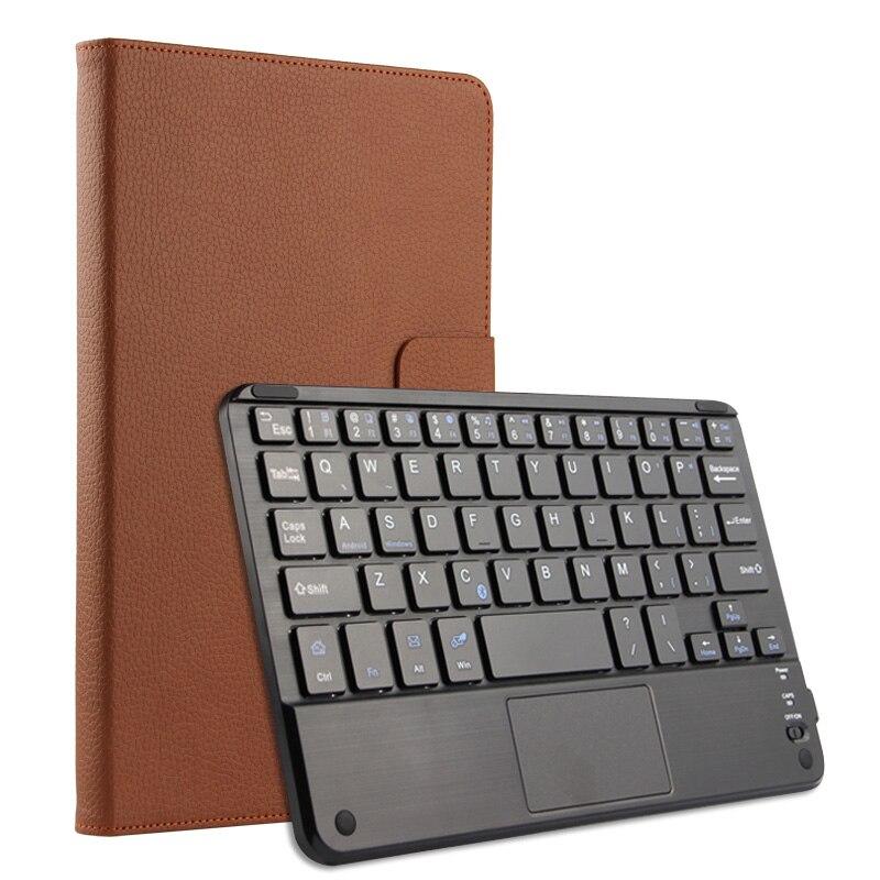 Prix pour Sans fil Bluetooth Clavier + PU Couverture En Cuir De Protection Smart Case Pour Huawei MediaPad M3 BTV-W09/DL09 8.4 pouce Tablet + cadeau