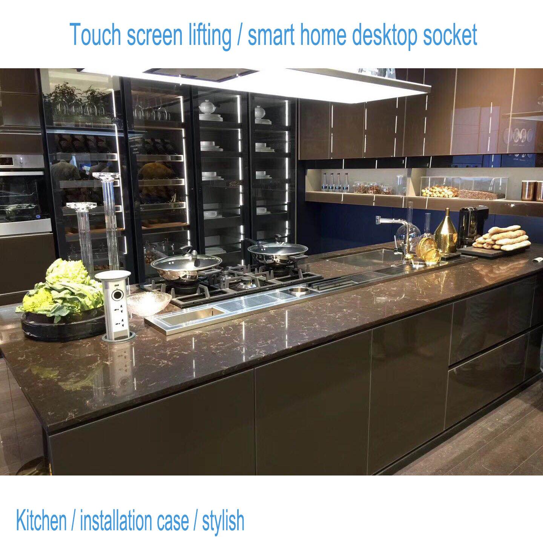 mesa de casa inteligente 2 padrão europeu